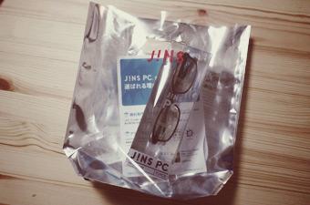 JINS PC / SQUARE / BLACK