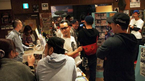 ROCKERS ISLAND 大阪ショップ 店内の様子