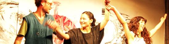 ライブペイントで魅せるダイナミックな世界感に唖然!「KYOTARO祭り2012 地球に生まれて良かった!!! 知恵力元年!!!」