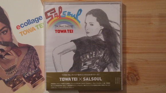 TOWA TEI「The Beat Goes On」MixCD