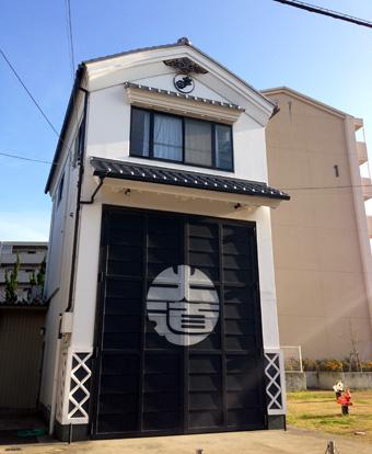 岸和田だんじり祭り「大道町」小屋