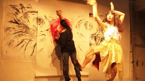 KYOTARO祭り2012 ライブペイント
