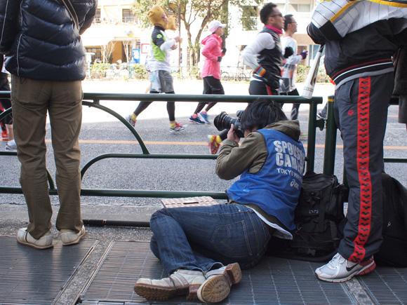 東京マラソン・カメラマン(CANON)
