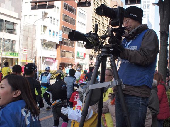 東京マラソン・カメラマン(NIKON)