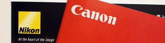 NikonかCanonか?はじめてのデジタル一眼レフカメラ選び。