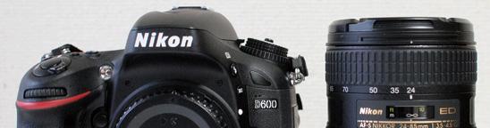 Nikon D600購入の決め手!ミラーレスからデジタル一眼レフカメラに。