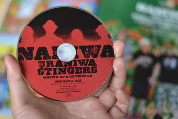 月刊誌「WOOFIN'」2013年8月号 NANIWA URANIWA STRINGERS