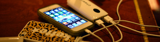 iPhoneを2.5回フル充電!2000円ちょっとの小型バッテリーが良い感じ。
