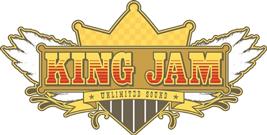 KING JAM logo