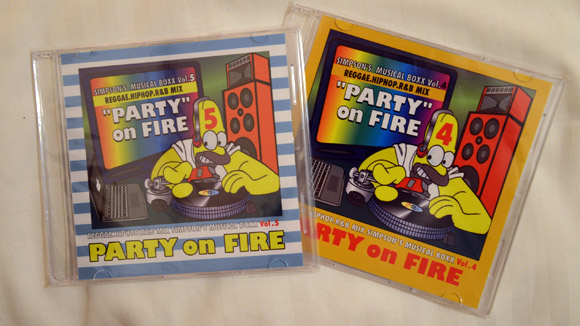 PARTY ON FIRE mixed by Simpson