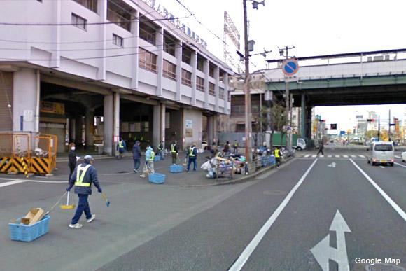 大阪西成「新今宮」駅