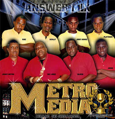 METRO MEDIA DUBPLATE MIX