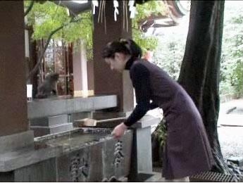 手水の作法(神社本庁ウェブサイトより)