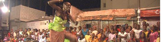 ダンスは会話だ!世界一踊るダンスの原点、セネガルをNHKが取材『地球イチバン』。