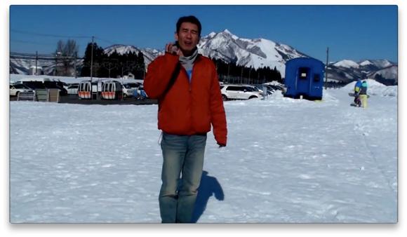 雪や氷の上を歩いても滑りにくい安全な歩き方