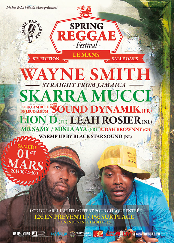 Spring Reggae Fest 8 avec Wayne Smith