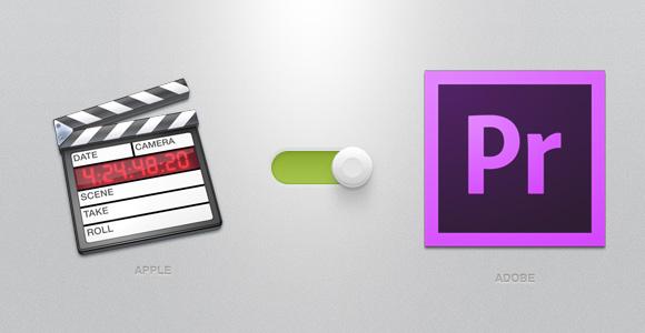 Apple Final Cut Pro 7 から Adobe Premiere Pro CC へ移行。