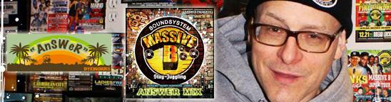 Massive Bでハッピーに☆ AnSWeRがNYブルックリンへ駆け付け、こだわり抜いた理由!
