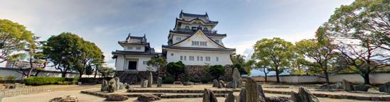 岸和田城に…タダで入れた!Googleストリートビュー散歩が凄すぎる!