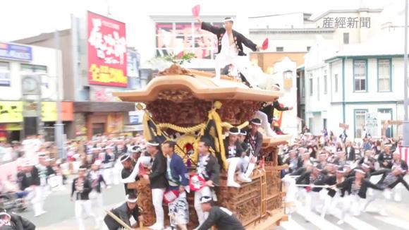 岸和田だんじり祭り(産經新聞)