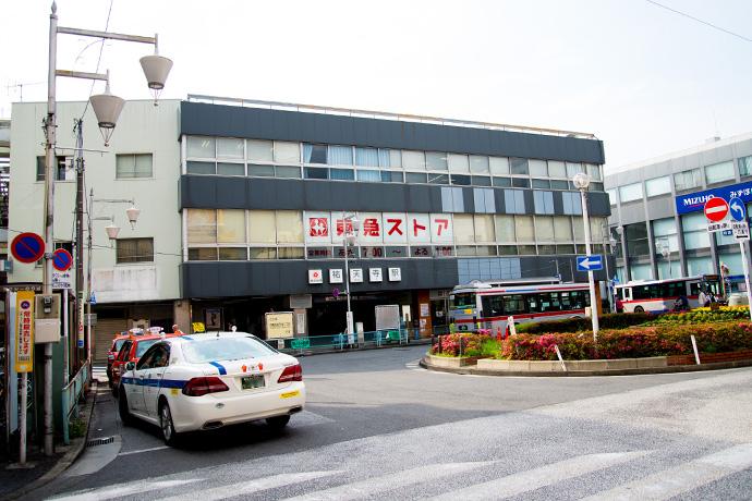 2014年 旧祐天寺駅