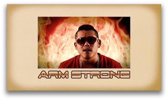 ARM STROMG「FIRE MAN」KOYASHI HAIKYU より