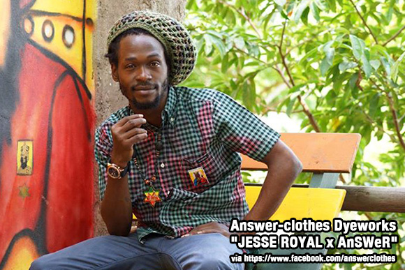"Answer-clothes Dyeworks ""JESSE ROYAL x AnSWeR"""