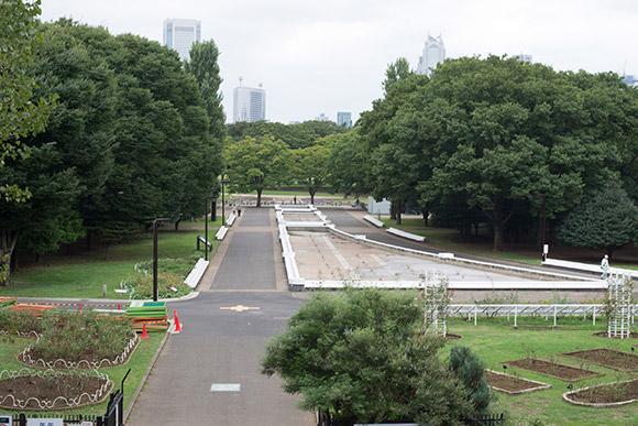 噴水がある公園