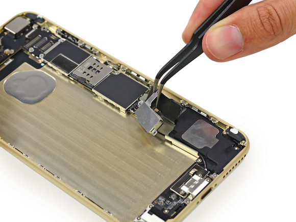 iPhone 6 plus ゴールド分解レポート(iFixit)