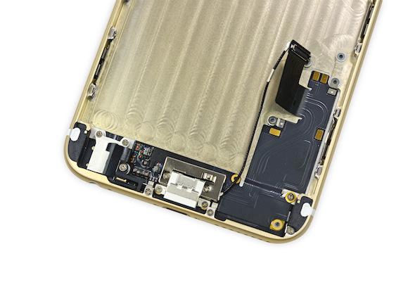iPhone 6 plus ゴールド分解レポート(iFixit)