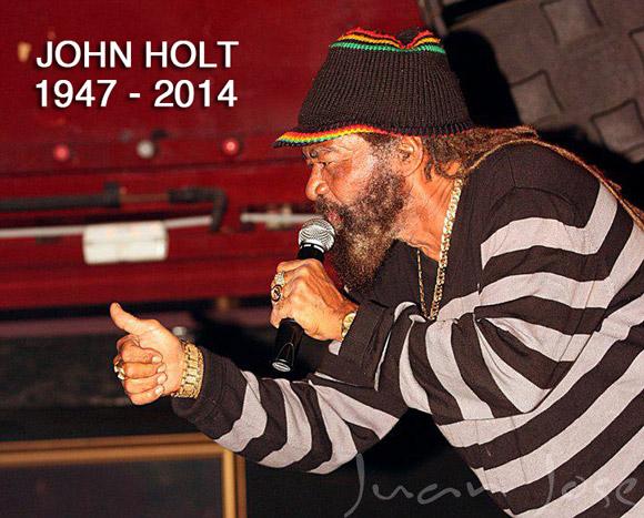 ジャマイカの代表的シンガーJOHN HOLT、ロンドンで死去69歳。