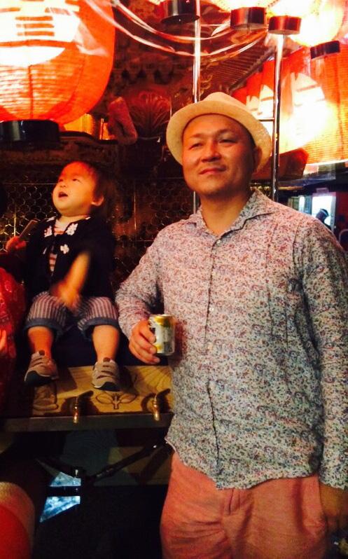 1歳5ヶ月の息子と、BMI 27の父。