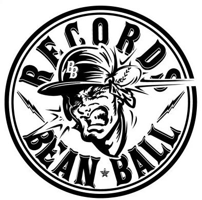 BEAN BALL RECORDS(ビーンボールレコード)ロゴ