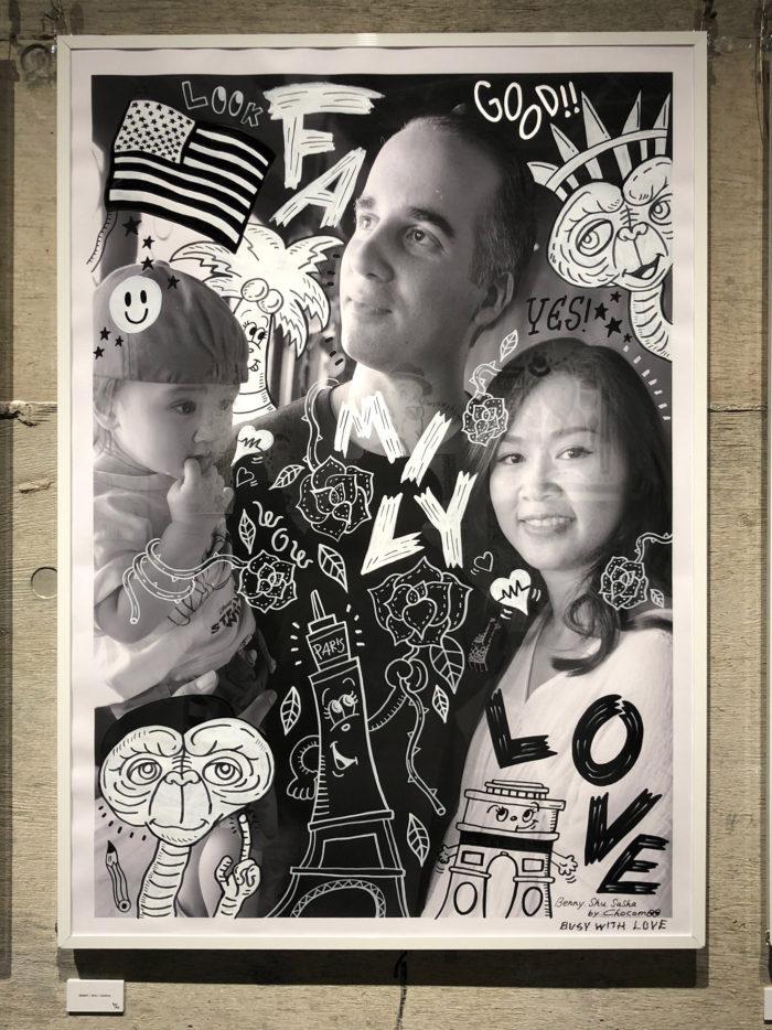 展示作品:Chocomoo 活動10周年を記念した個展「BUSY WITH LOVE」