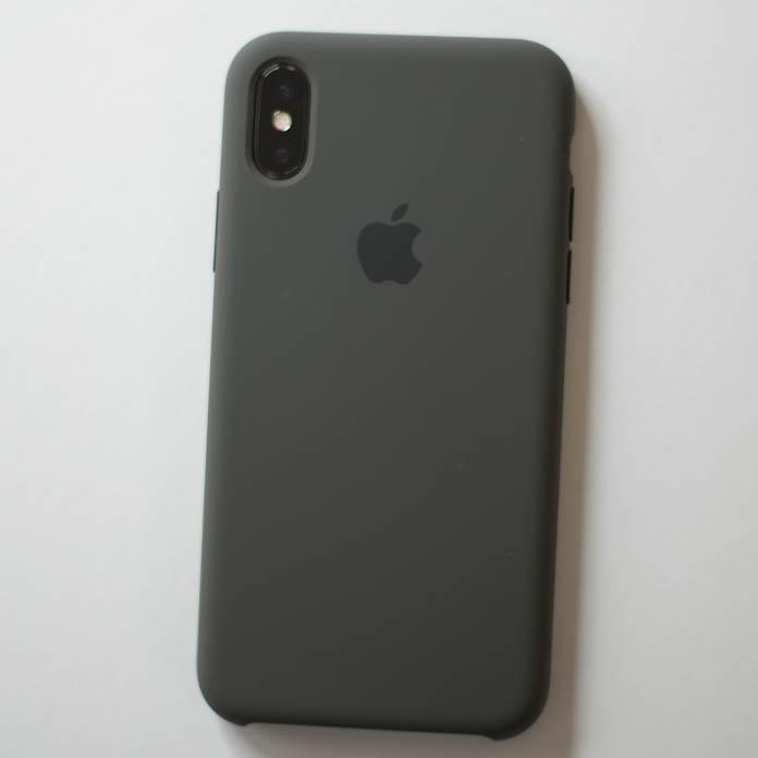Apple純正 iPhone シリコーンケース 裏面