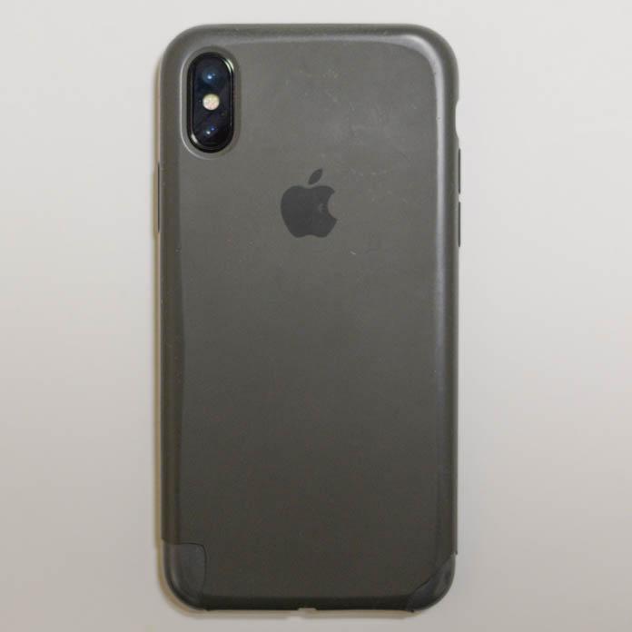 使用感のある Apple純正 iPhone シリコーンケース