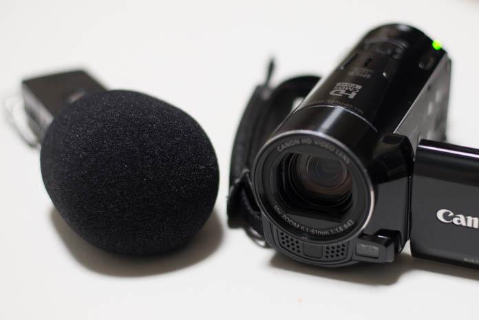 ボイスレコーダーとビデオカメラ