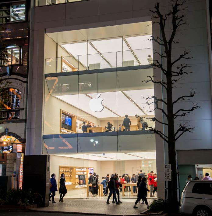 Apple Store 渋谷外観