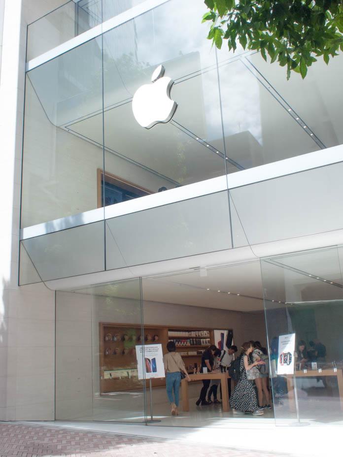 Apple Store SHIBUYA 外観
