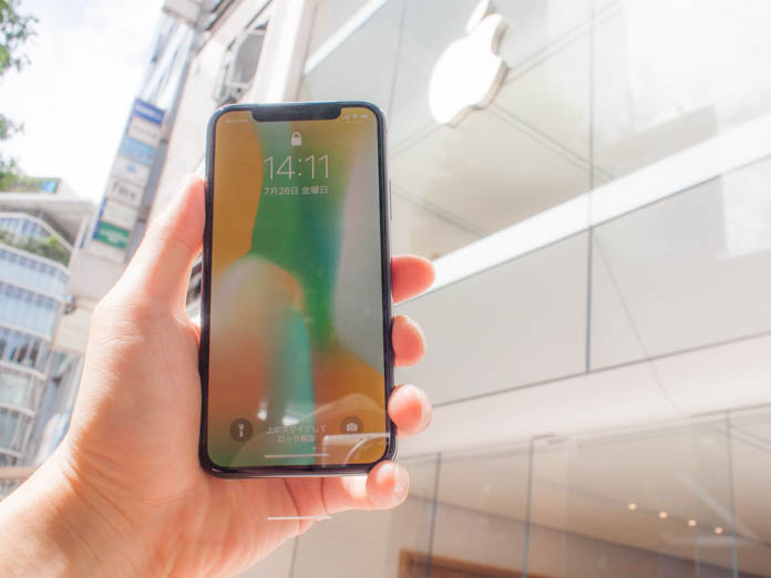 Apple Storeと新品交換になったiPhone