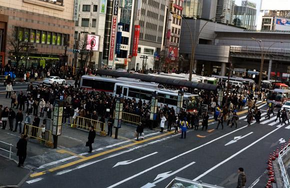 渋谷駅西口バスターミナル