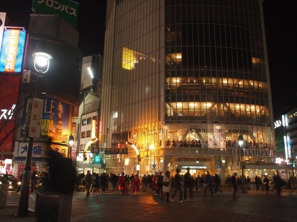 渋谷駅前スクランブル交差点