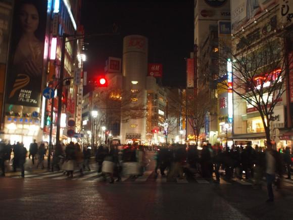 渋谷駅前スクランブル交差点 109