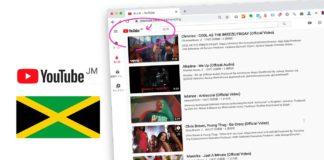 YouTube急上昇動画ランキング JAMAICA