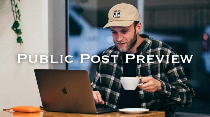 Public Post Preview を使っているブロガー